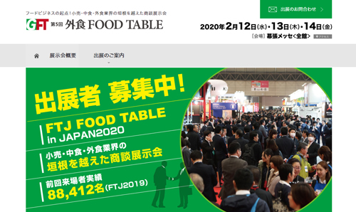 7-1.FOOD TABLE in JAPAN