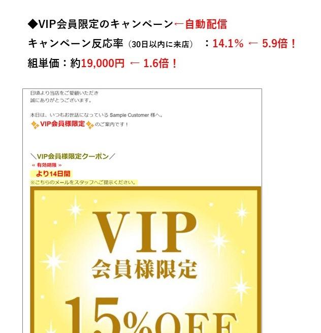 D店【VIP会員限定のキャンペーン】